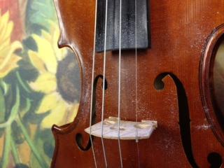 Violin, Rosin Dust, Strings