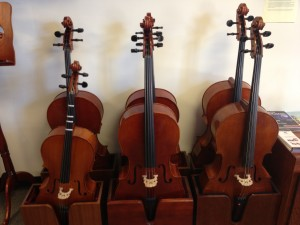 Different size Cellos