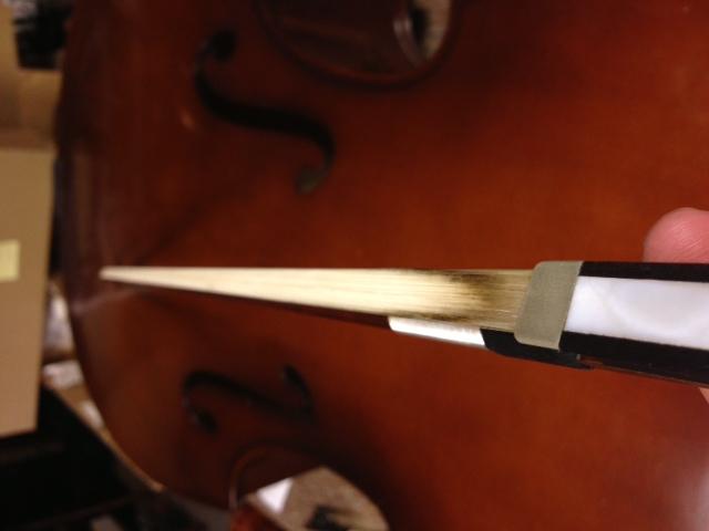 Oil, Bow hair, Rehair, Violin bow