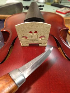 Aubert Violin Bridge