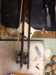 Damaged bows