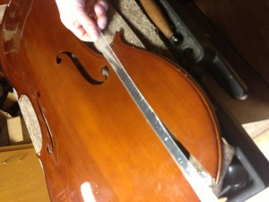 Cello repair