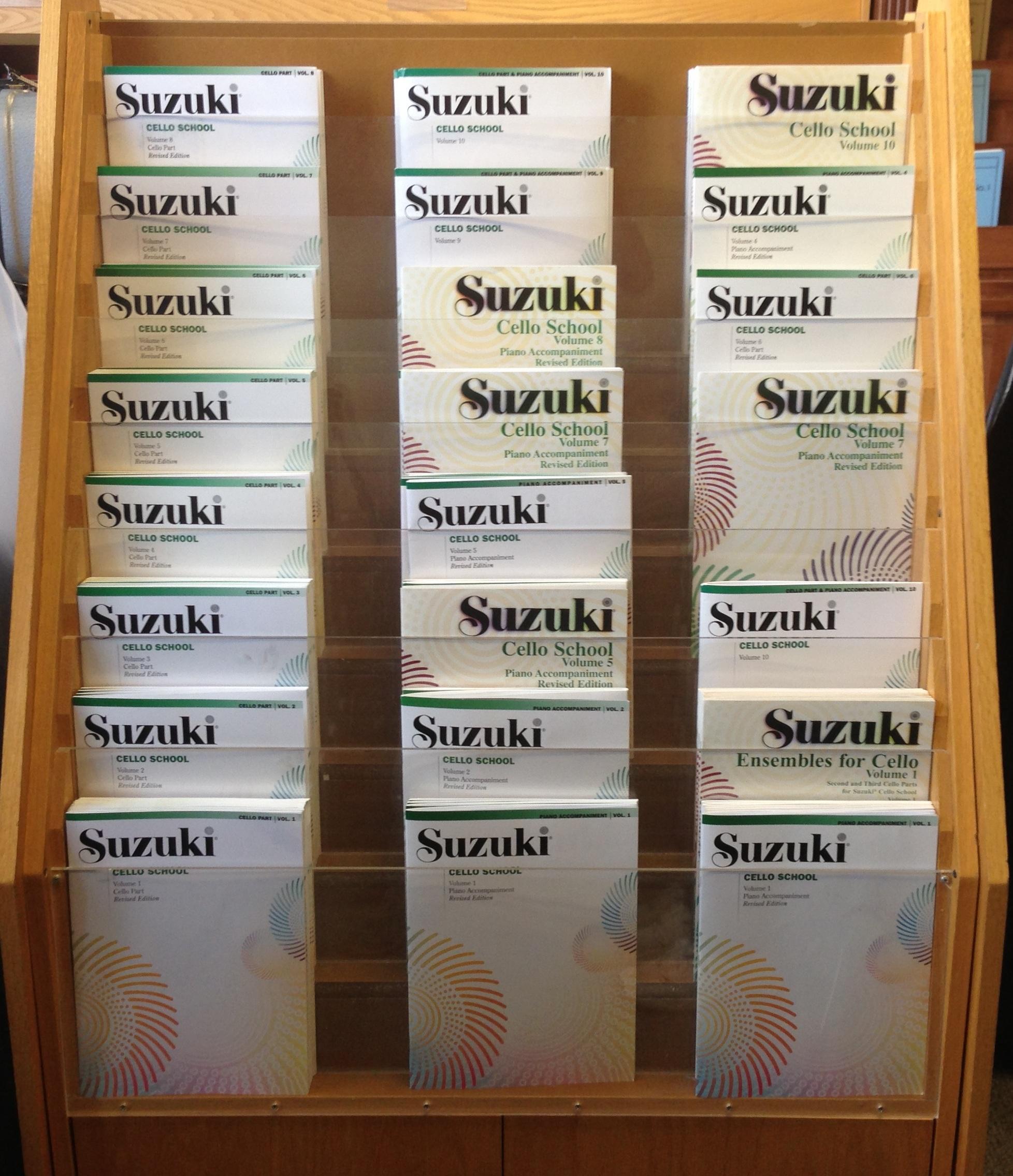 Suzuki Cello Books 1-10